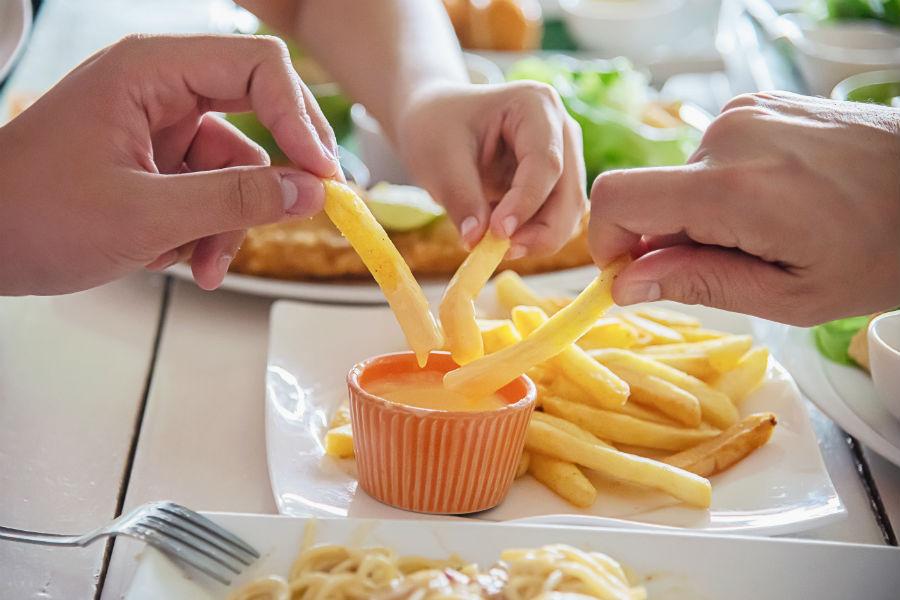 gorduras e frituras