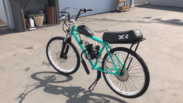 ajuste técnico em bicicleta motorizadas.